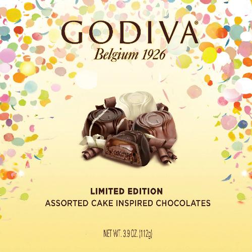 6 Boxes of Godiva Cake Inspired Chocolates : $23.99 + Free S/H