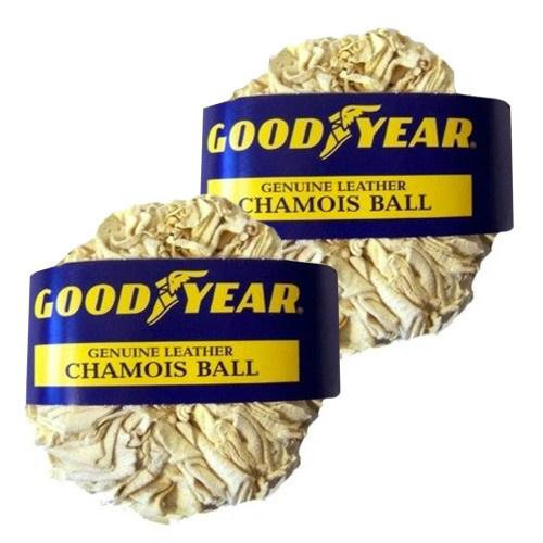 2-PK of Goodyear Chamois Balls : $6.99 + Free S/H
