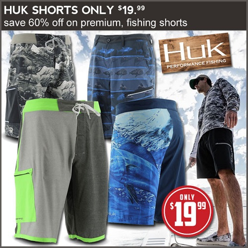 Up to 63% off Men's HUK Board Shorts : Only $19.99