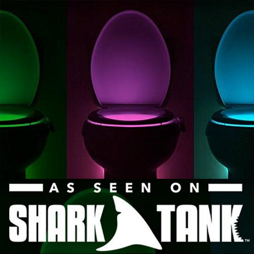 IllumiBowl Toilet Night Light : $9.99 + Free S/H