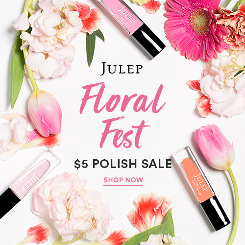 64% off Julep Nail Polish : 2 for $10 + Free S/H