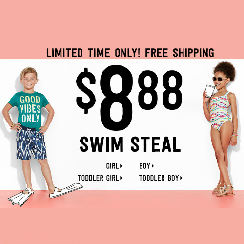 Kids' Swimwear : $8.88 + Free S/H