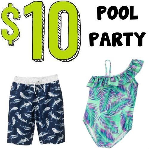 Kids' Swimwear Sale : All Styles only $10