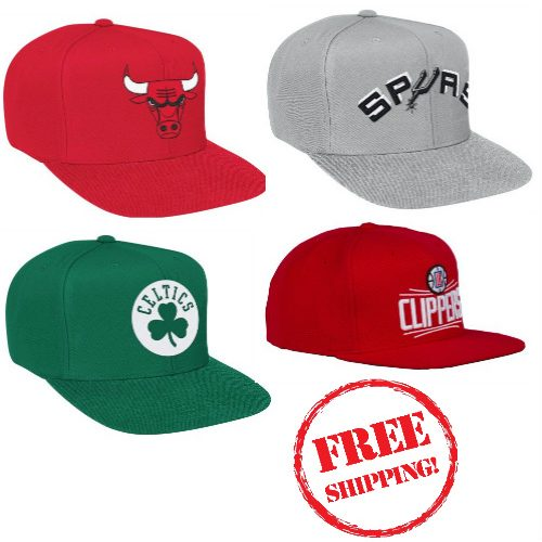 Men's NBA Snapback Caps : $7.99 & $9.99 + Free S/H