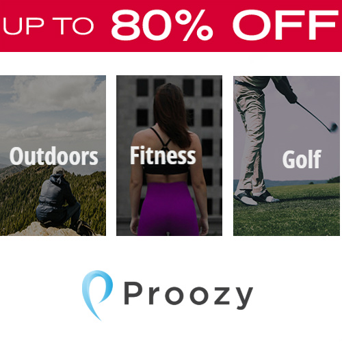 Proozy Coupon : Extra 15% off any order + Free S/H