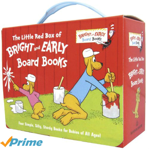4-PK of Bright and Early Board Books : $8.10