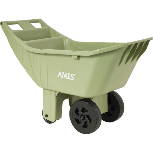 4 cu. ft. Poly Lawn Cart : Only $19.88