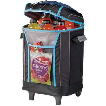 44% off Coleman 42-Can Upright Rolling Cooler : $30.39