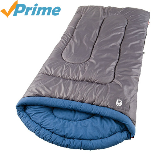 64% off Coleman Over-sized Sleeping Bag : $21.30
