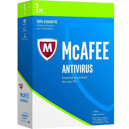 92% off McAfee AntiVirus 2017 : $2.99