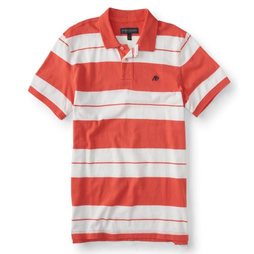 66% off Men's Aeropostale Striped Polos : $9.99 + Free S/H