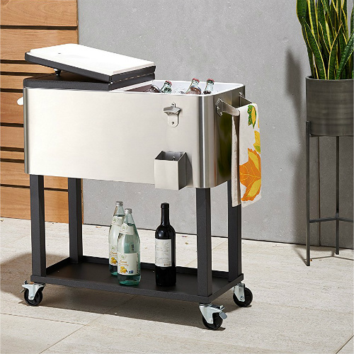 20% off Stainless Steel Cooler with Shelf : $120.20 + Free S/H