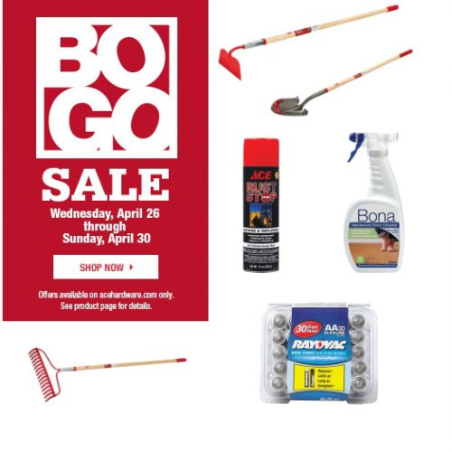 ace hardware bogo sale