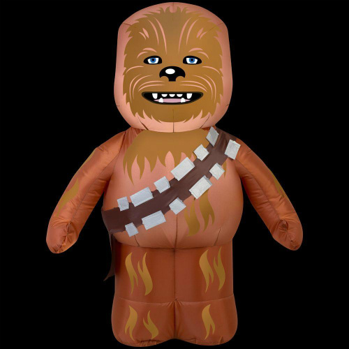 airblown inflatable chewbacca