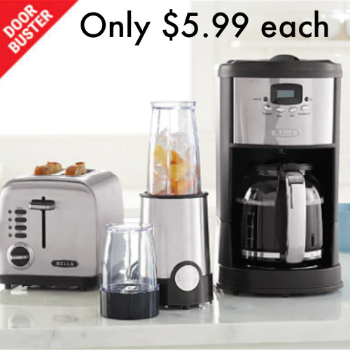 Up to 85% off 3 Kitchen Appliances : Only $5.99 each AR + Free S/H