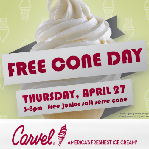 Carvel : Free Ice Cream
