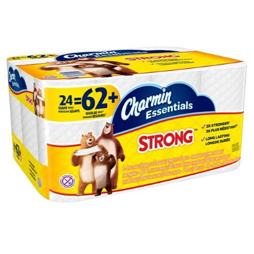 24-PK of Charmin Essentials Toilet Paper : $9.99