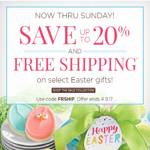 Cheryl's Easter Gifts : Up to 20% off + Free S/H