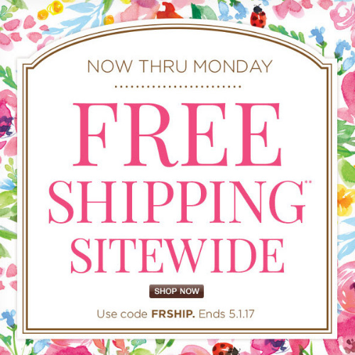 Cheryl's Coupon : Free S/H on any order