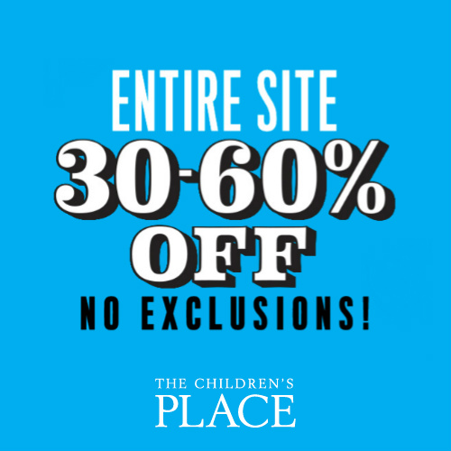 The Children's Place : 30-60% off Everything + Free S/H