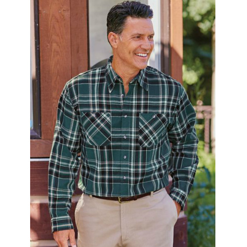 72% off Men's Flannel Plaid Shirts : $8.97 + Free S/H