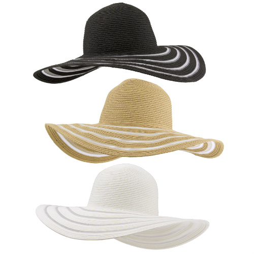 57% off 3-PK of Wide Brim Floppy Hats : $15.99 + Free S/H