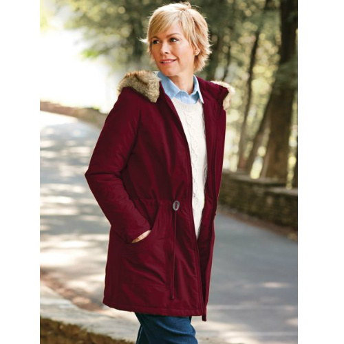 71% off Women's Faux-fur Trimmed Hooded Anorak : $19.97 + Free S/H