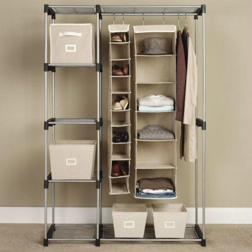 closet organizer storage rack