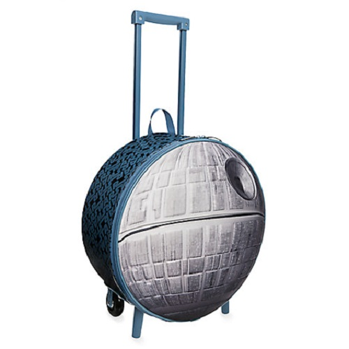 62% off Death Star Rolling Luggage : $14.99 + Free S/H