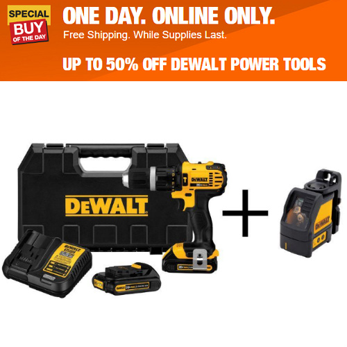 Dewalt Hammer Drills and Screwguns : 31-50% off + Free S/H