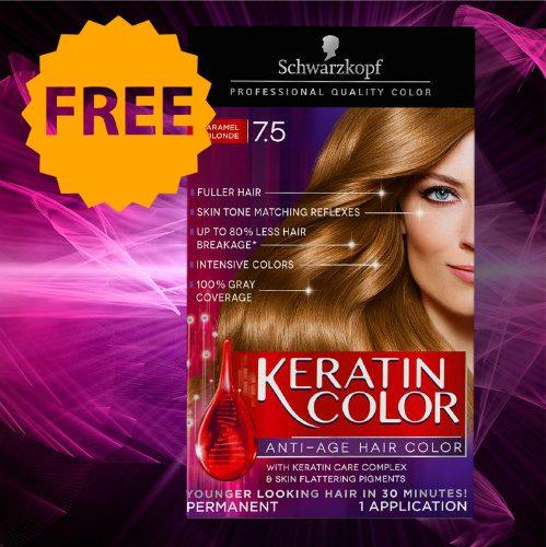 free Schwarzkopf Hair Color