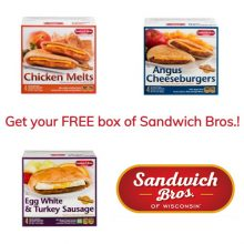 free box of Sandwich Bros