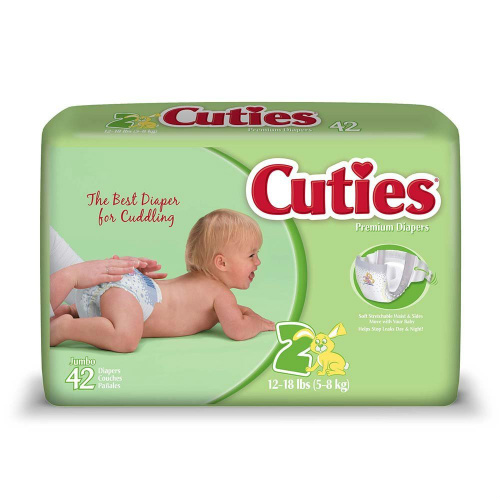 Cuties : Free Diaper Sample
