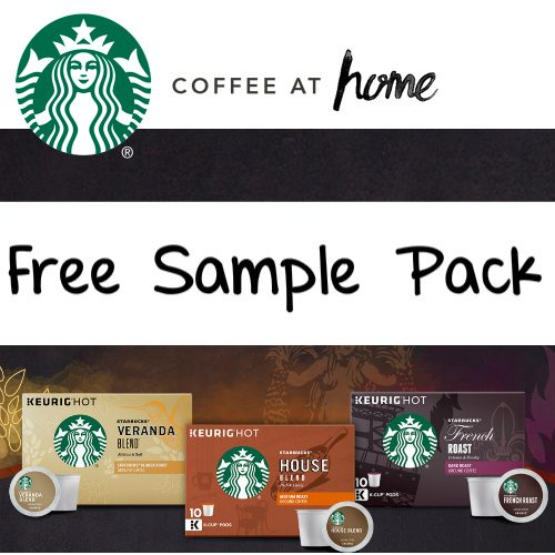 Starbucks K-Cups : Free Sampler Pack