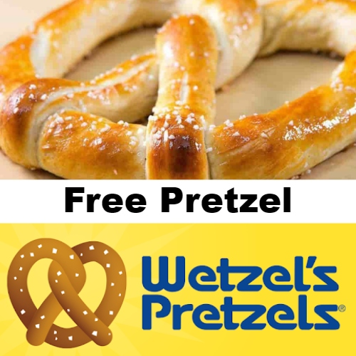 Wetzel's Free Pretzel