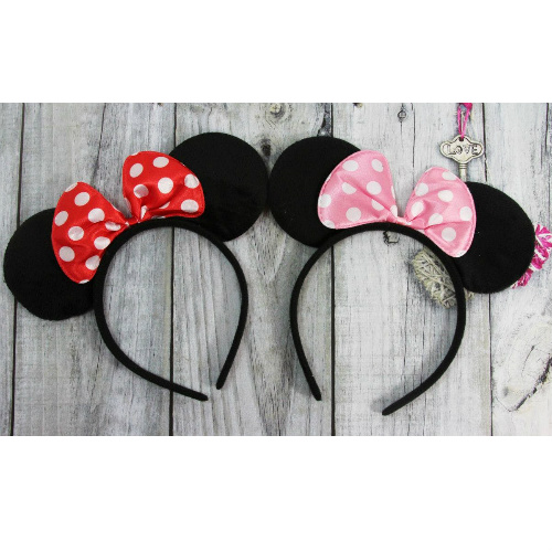 50% off Girls' Mouse Ears Headbands : $5.99 + Free S/H