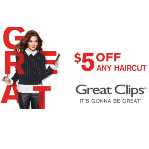 Great Clips : $5 off any Haircut