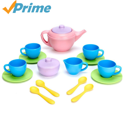 58% off Green Toys Tea Set : Only $11.38