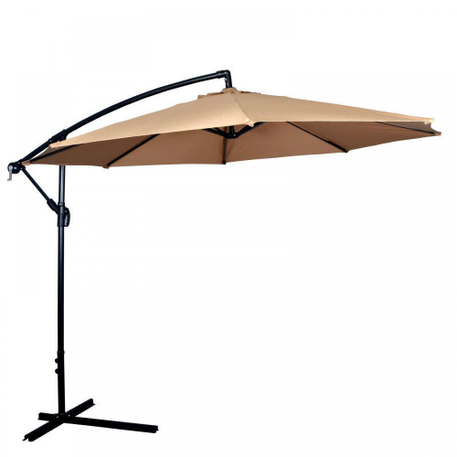 70% off 10′ Offset Patio Umbrella : $43.99 + Free S/H