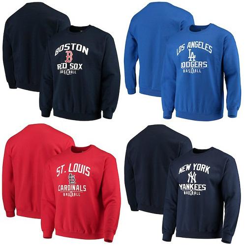 43% off Men's MLB Crew Sweatshirts : Only $22.99 + Free S/H