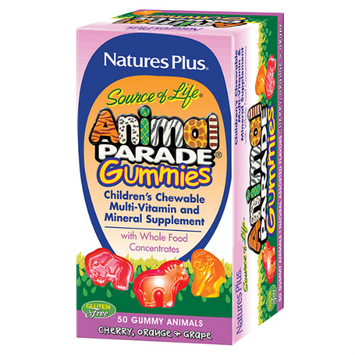Natures Plus Vitamins : Free Animal Parade Gummies for Kids Sample
