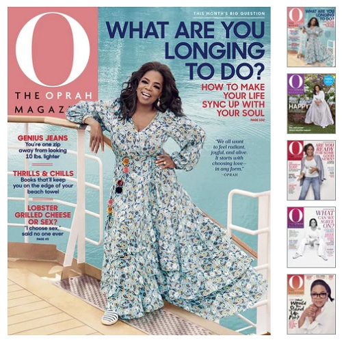 78% off 4-YRS of O Magazine : Only $15