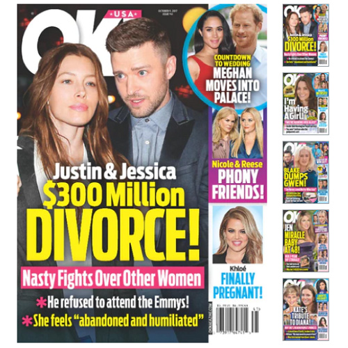 71% off OK! Magazine Subscription : Only $17.45