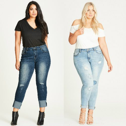 66% off Women's Plus-Size Jeans : $30 + Free S/H & Free Returns