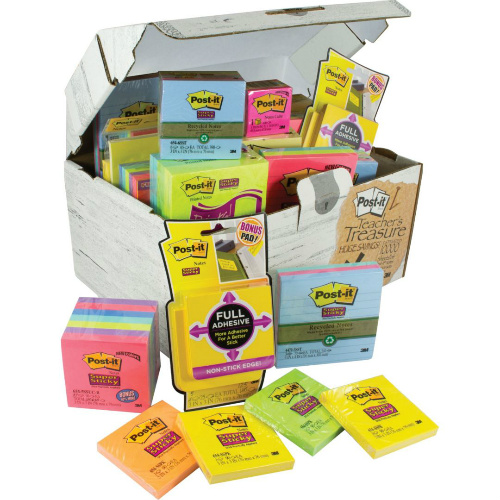 post-it notes treasure box