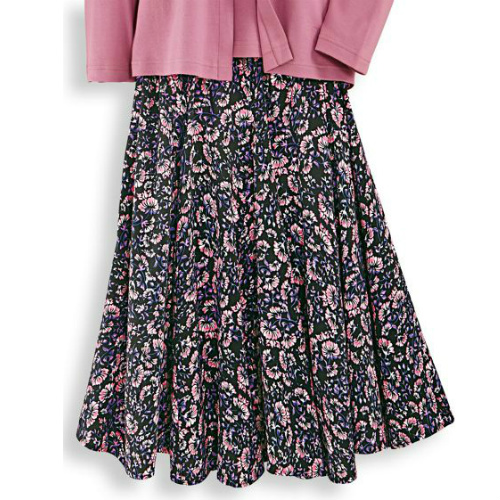 pretty posies swing skirt