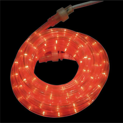 red LED rope light clearance