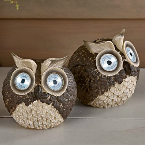 71% off Solar Owl Garden Accents : $9.97 + Free S/H