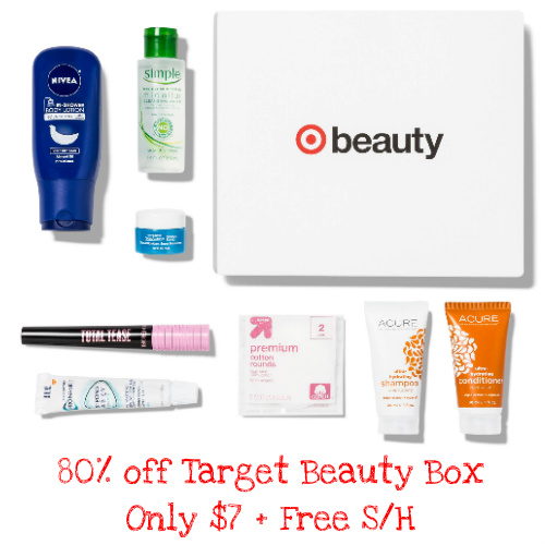 "80% off Target ""Your New Basics"" Beauty Box : $7 + Free S/H"