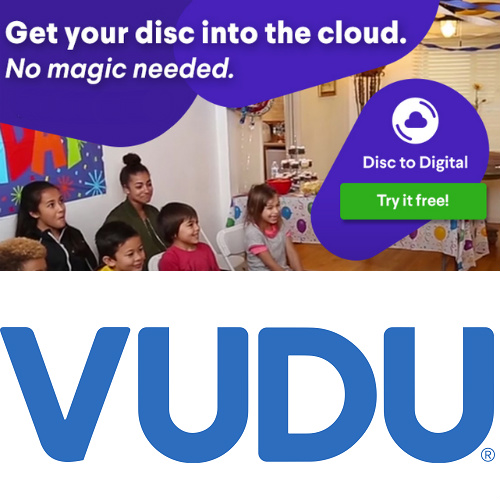 Vudu : Free Disc-to-Digital Conversion